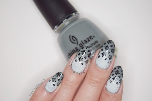 Choi's nails: China Glaze Elephant walk grey gradient