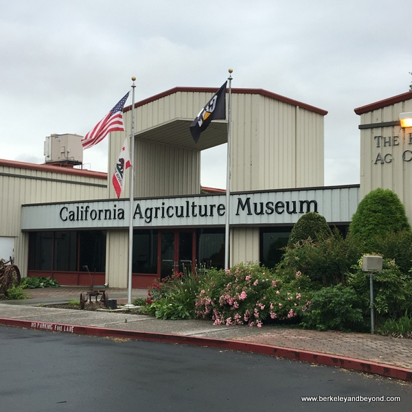 outside entrance to California Agriculture Museum in Woodland, California