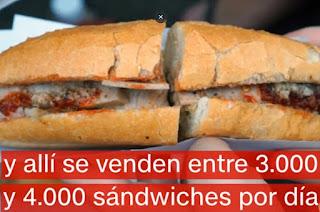El mejor sándwich del mundo es el banh mi vietnamita. Donde venden el mejor sándwich del mundo. Como se llama el  sándwich más sabroso del mundo.