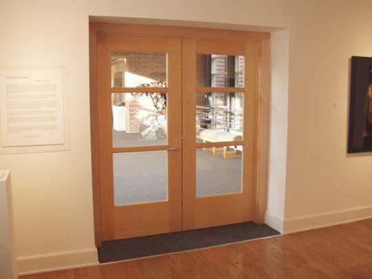 Interior office door with glass window from tri city - Interior door with window on top ...