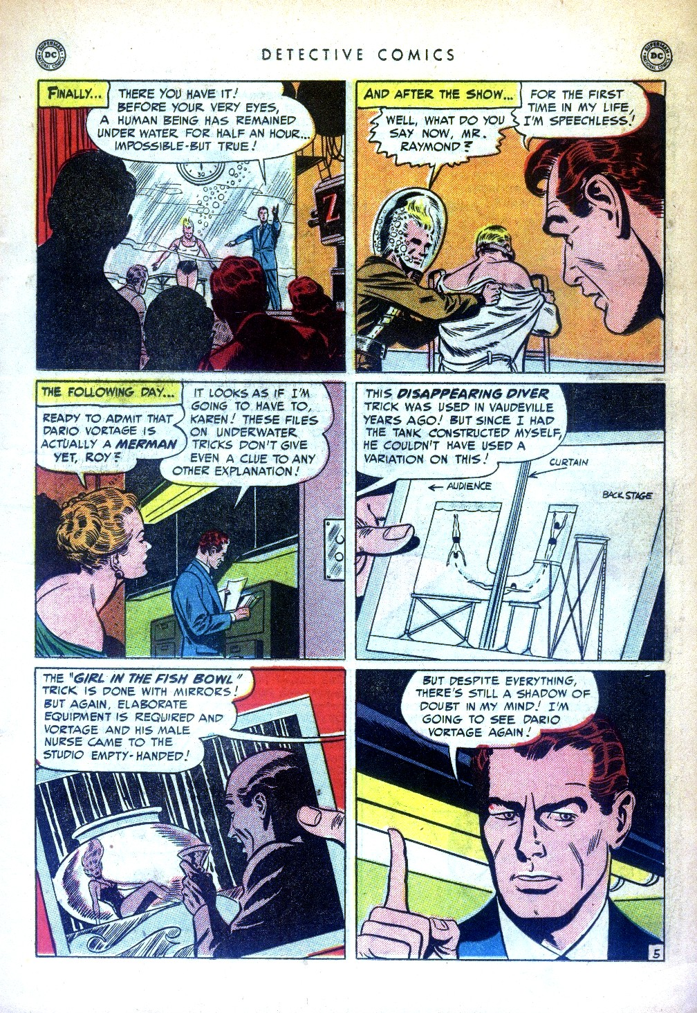 Read online Detective Comics (1937) comic -  Issue #169 - 21