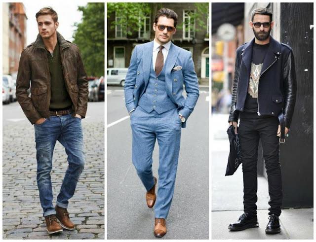 a596491ef تنسيق الألوان ملابس الرجال تتوافق مع الأسود