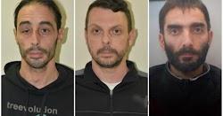 Η αστυνομία έδωσε στην δημοσιότητα τις φωτογραφίες των τριών που φέρονται να ανήκουν στην Επαναστατική Αυτοάμυνα. Οι δυο έχουν ήδη συλληφθεί...