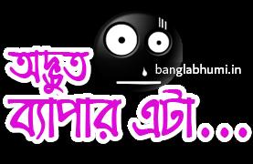 Adbhut Byapar Bengali Funny Comment Sticker