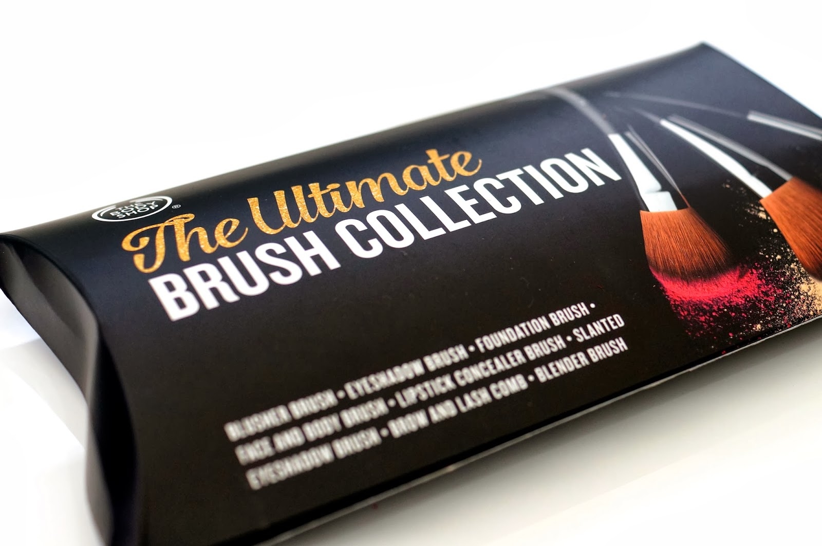 body shop ultimate brush collection