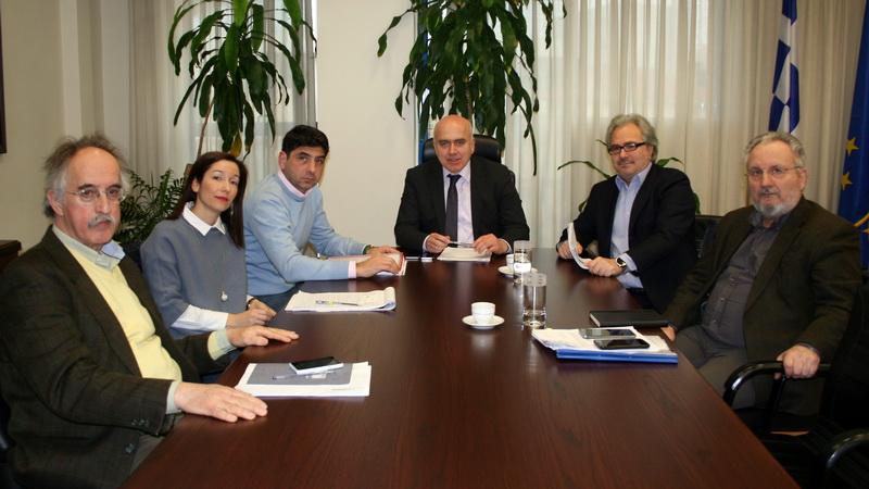 Συναντήσεις Μέτιου για την επίσπευση υλοποίησης της επέκτασης του δικτύου φυσικού αερίου στην Αν. Μακεδονία και Θράκη