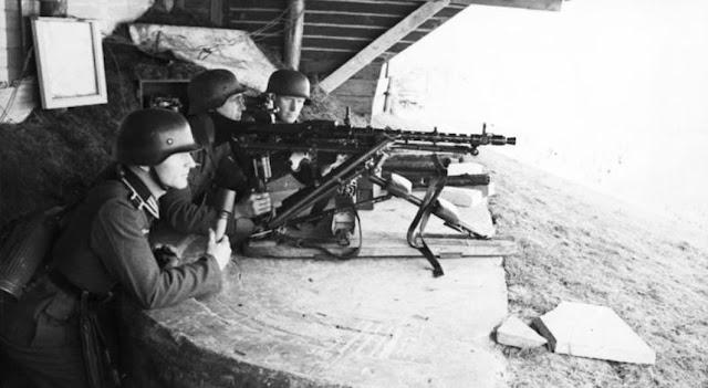 Omaha Beach, 6. Juni 1944. Kein Grund zum Schämen.