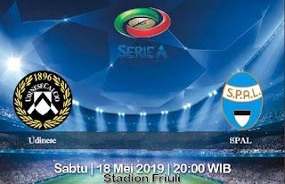 Prediksi Udinese Vs SPAL 18 Mei 2019