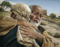 Ca kịch công giáo - người con hoang đàng trở về, Chúa nhật 4 Mùa chay, người cha nhân hậu