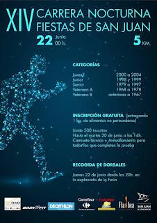 Feria de San Juan de Aznalfarache 2017 - Carrera Nocturna día 22 de Junio