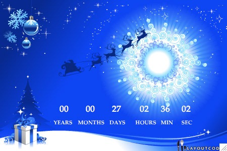 Free christmas wallpapers may 2011 - How to make a countdown your wallpaper ...