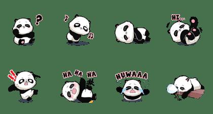 Bubhu Cute Baby Panda