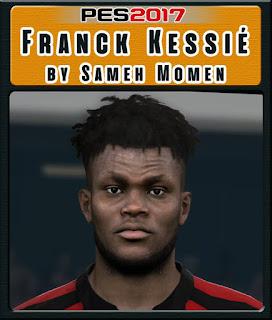 PES 2017 Faces Franck Kessie by Sameh Momen