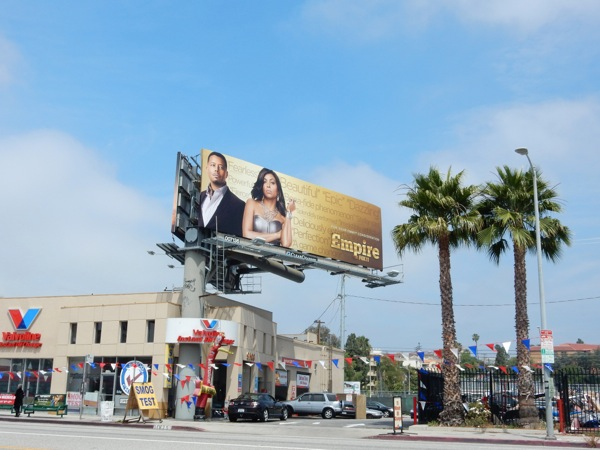 Empire 2015 Emmy billboard