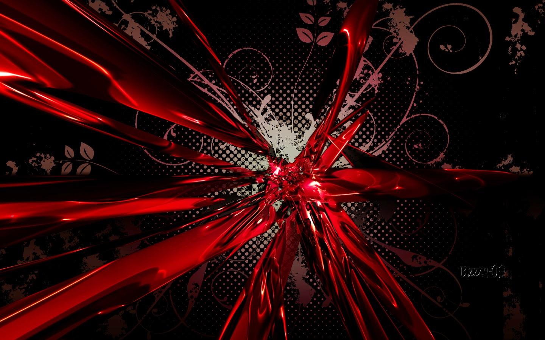 Imagenes Abstractas En Hd Para Descargar: Fondo De Pantalla Abstracto Pintura Roja