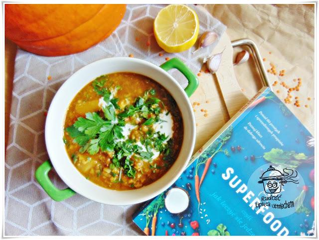 Dahl z soczewicy a także recenzja książki Superfood...