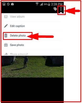 how to delete multiple photos on facebook android