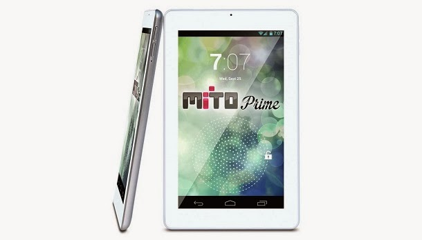 Mito Prime, Tablet Android 7 Inci CPU Quad Core