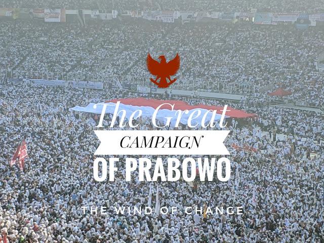 #TheGreatCampaignOfPrabowo Trending Topic, Berikut Foto dan Video Kampanye Akbar di GBK