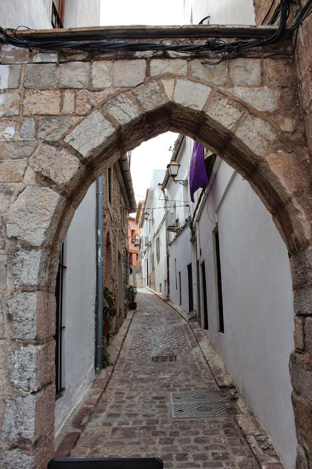 Portalet de la Judería de Sagunto-Valencia