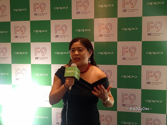 Jane Wan, OPPO Vice President for Marketing