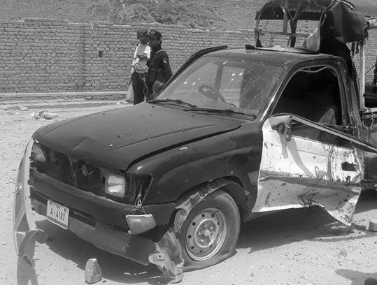 Four Policemen Injured In CTD Vehicle Blast In Quetta
