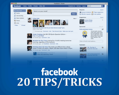 20 Tips Trik Facebook