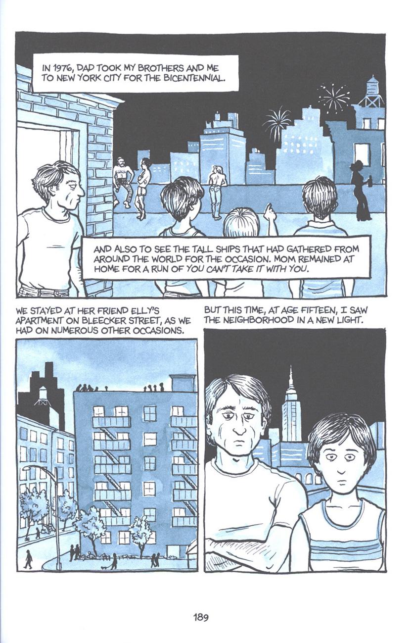 Read online Fun Home: A Family Tragicomic comic -  Issue # TPB - 195