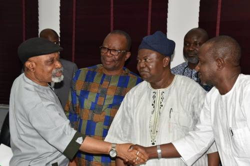 The Look ASUU Chairman Gave Chris Ngige After Reaching Agreement