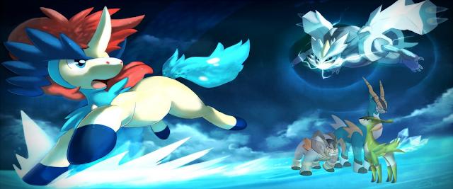 Pokémon: Kyurem VS El Espadachín Místico (1.6GB) (HDL) (Latino) (Mega)