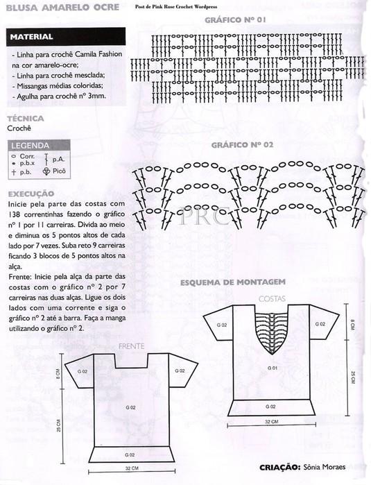 Excelente Patrón De Onda Crochet Adorno - Ideas de Patrones de ...