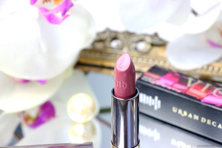 Le rouge à lèvres Rapture Vice Lipstick d'Urban Decay ! julieetsesfutilites.com