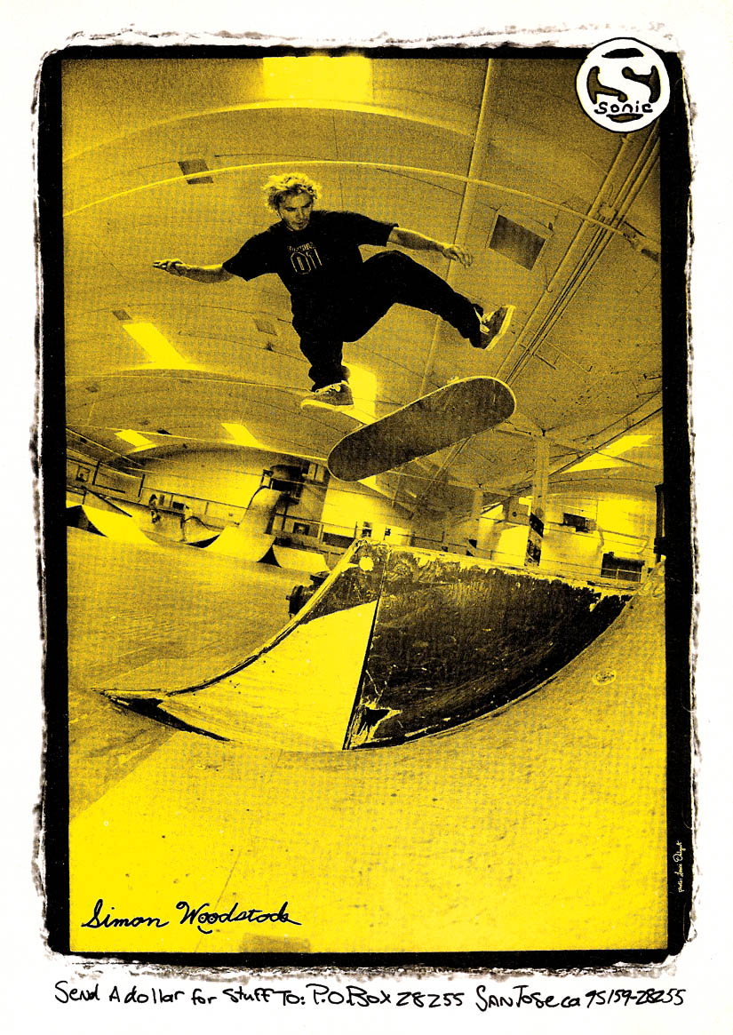 6d3105aff9f1 Sonic ad- Bs Kickflip in the old Powell Skatezone