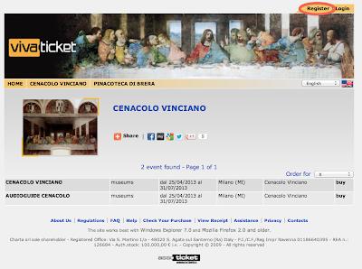Http Www Vivaticket It Index Php Nvpg Tour Id  Wms Op Cenacolovinciano