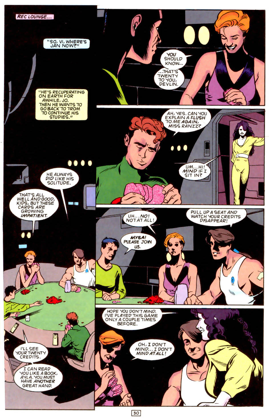 Legion of Super-Heroes (1989) 50 Page 30