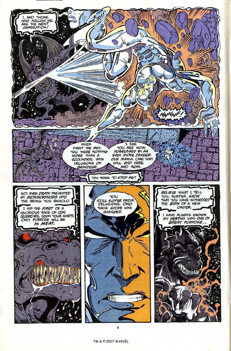 Read online Silver Surfer (1987) comic -  Issue #65 - 8