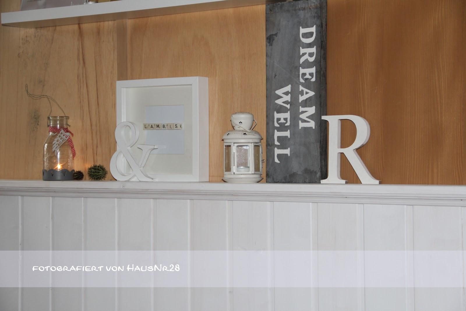 haus nr 28 neue wandverkleidung lambris. Black Bedroom Furniture Sets. Home Design Ideas