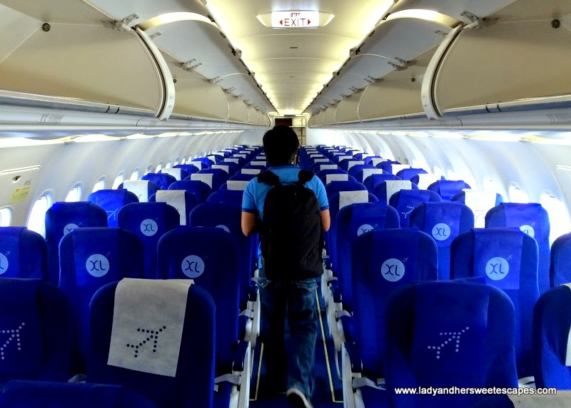 inside IndiGo Airlines A320