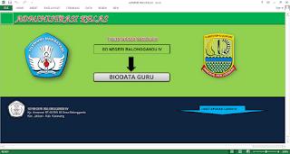 Aplikasi Pengadministrasian Kelas untuk SD, SMP, SMA dan Sederajat