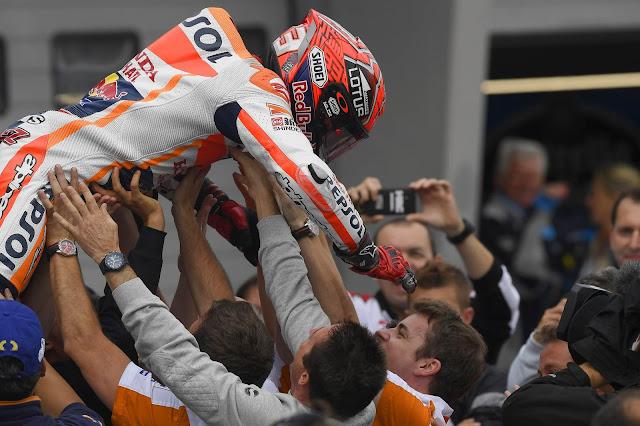 Marquez : Dibanding Saya dan Lorenzo, Sekarang Rossi Tercepat