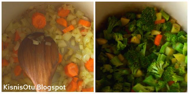 Brokoli, Çorbası, Çorbalar, Nefis, lezzetli çorba tarifleri, Kisnis, otu