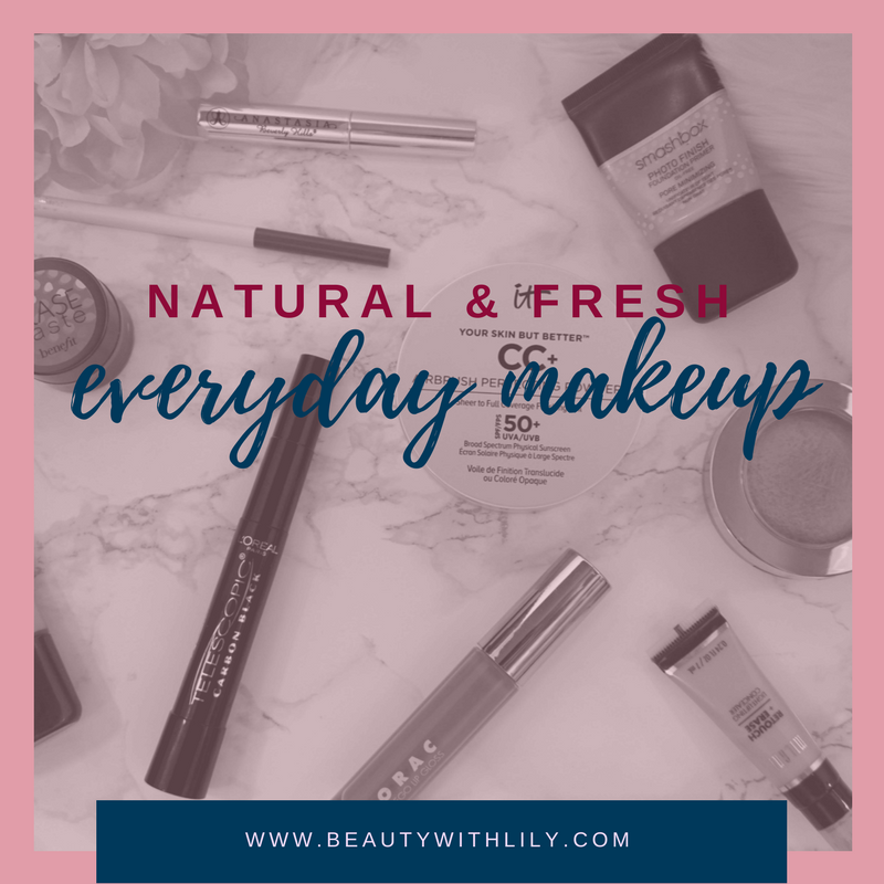 Easy Everyday Makeup Look | beautywithlily.com