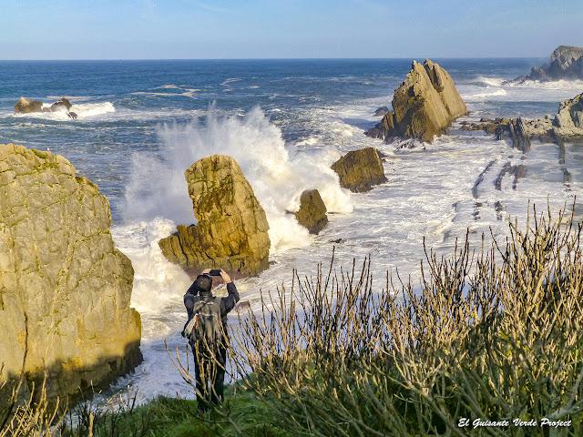 Fotografiando los Urros de Liencres - Cantabria, por El Guisante Verde Project