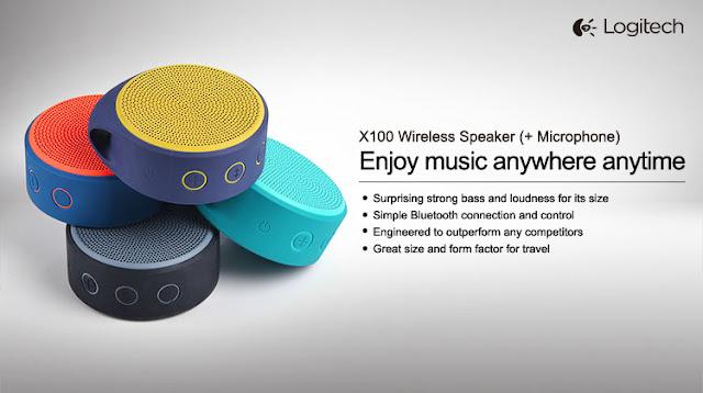 Logitech X100 Wireless Bluetooth Speaker