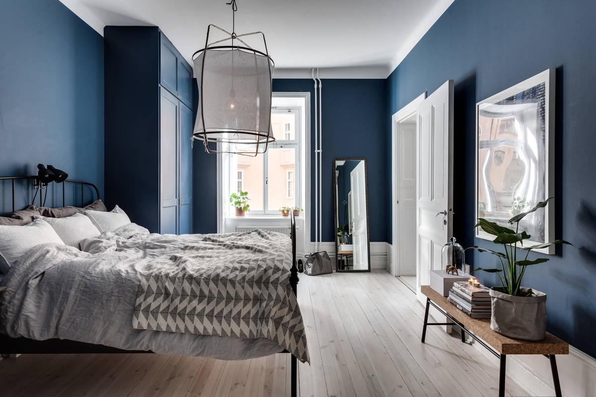 Dark Blue Bedrooms Interesting Bedroom Decorating Ideas Dark Blue