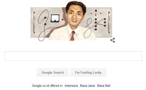 google doodle hari lahir samaun samadikun 2016-04-15