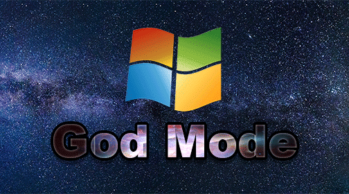 activate god mode on windows