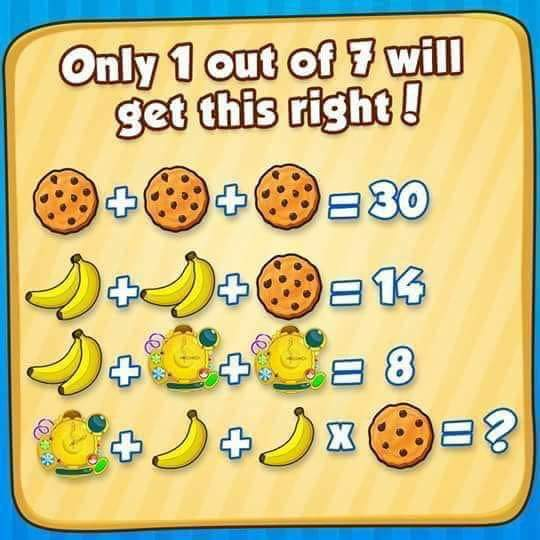 Cookie Banana Time Piece Puzzle