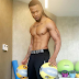 Flavour shares sexy workout photo