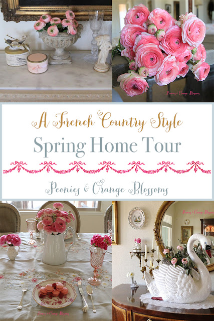 A French Country Style Spring Home Tour